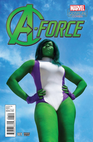 A-Force #1 (Cosplay Cover)