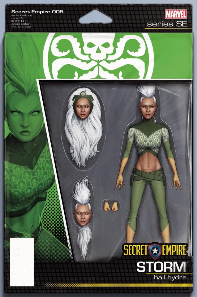 Secret Empire #5 (Christopher Action Figure Cover)