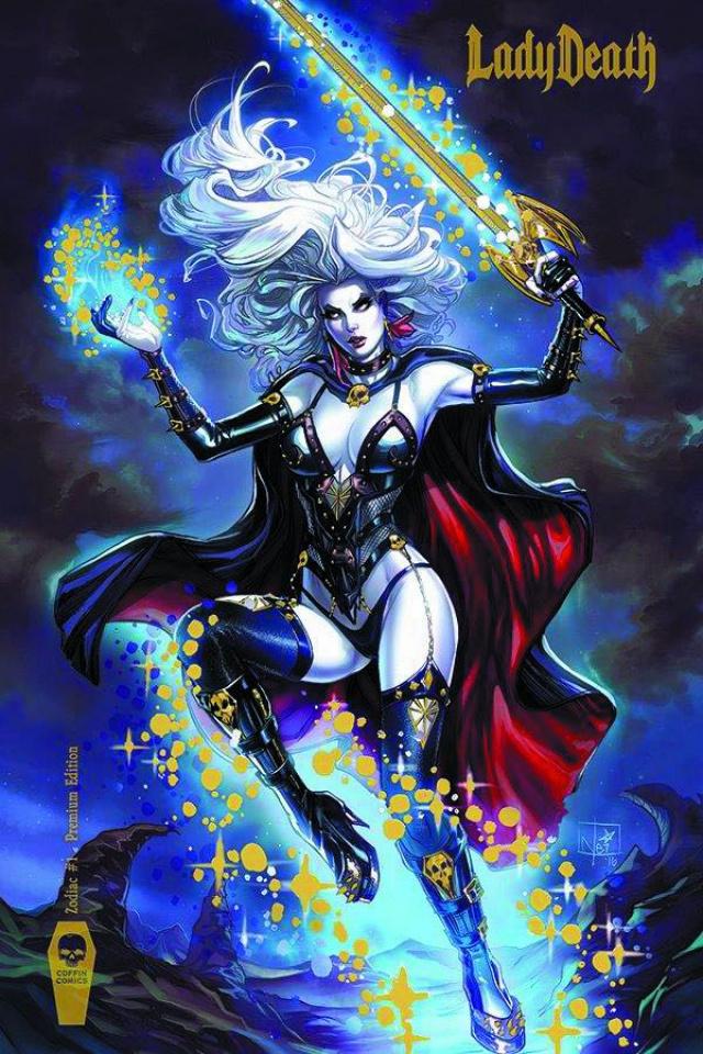 Lady Death: Zodiac #1 (Foil Premium Cover)