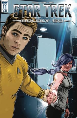 Star Trek: Boldly Go #11 (Shasteen Cover)