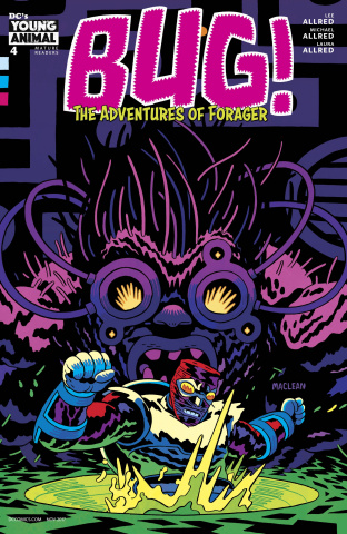 Bug! The Adventures of Forager #4 (Variant Cover)