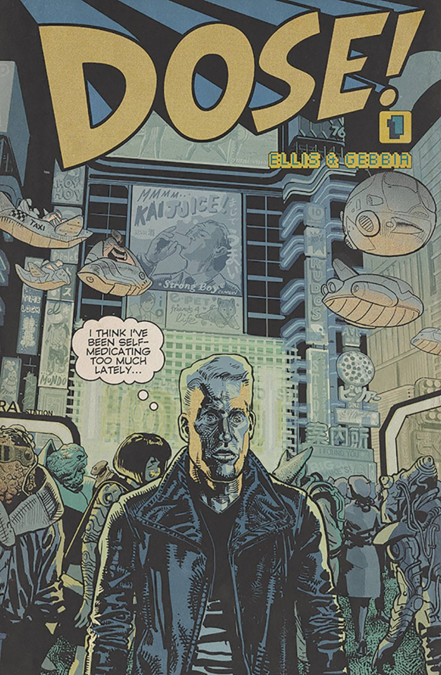 Dose! #1 (Gebbia Cover)