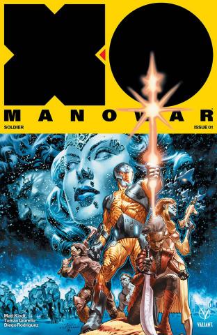 X-O Manowar #1 (Larosa Cover)