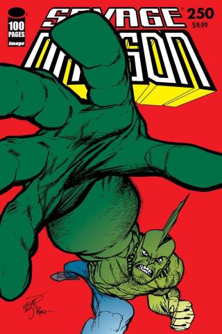 Savage Dragon #250 (Larsen & Ottley Cover)