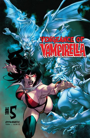 Vengeance of Vampirella #5 (Buzz Cover)