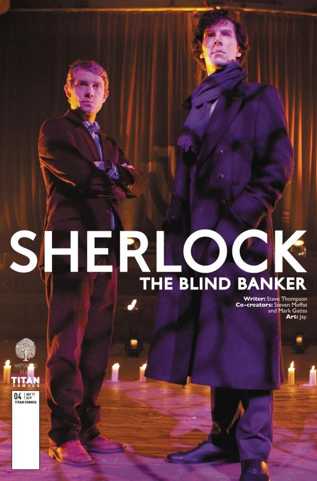 Sherlock: The Blind Banker #4 (Photo Cover)