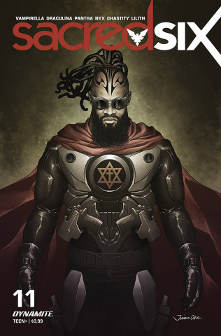Sacred Six #11 (Ohta Cover)