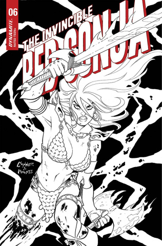 The Invincible Red Sonja #6 (15 Copy Conner B&W Cover)