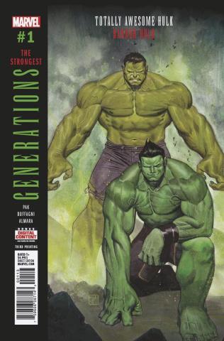Generations: Banner Hulk & Totally Awesome Hulk #1 (3rd Printing)