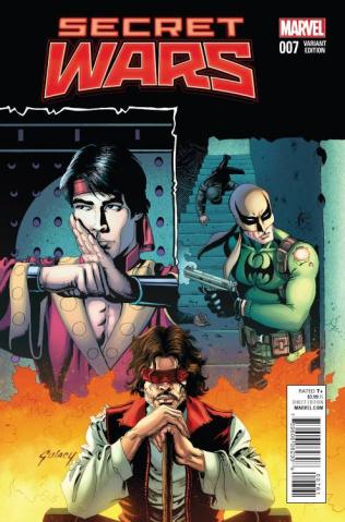 Secret Wars #7 (Coker Cover)