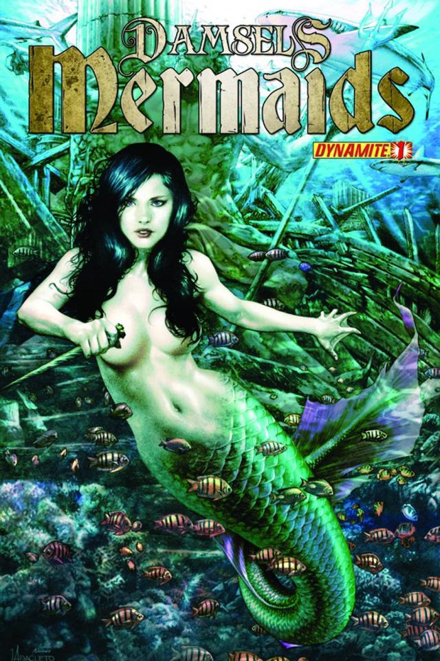 Damsels: Mermaids #1 (Anacleto Cover)