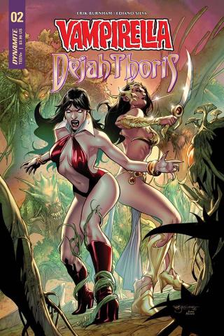 Vampirella / Dejah Thoris #2 (Segovia Cover)