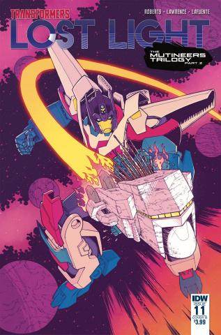 The Transformers: Lost Light #11 (Roche Cover)