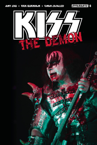 KISS: The Demon #3 (Photo Cover)