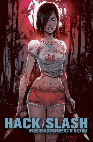 Hack/Slash: Resurrection #12 (Seeley & Filardi Cover)