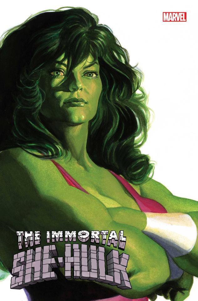 The Immortal She-Hulk #1 (Alex Ross She-Hulk Timeless Cover)