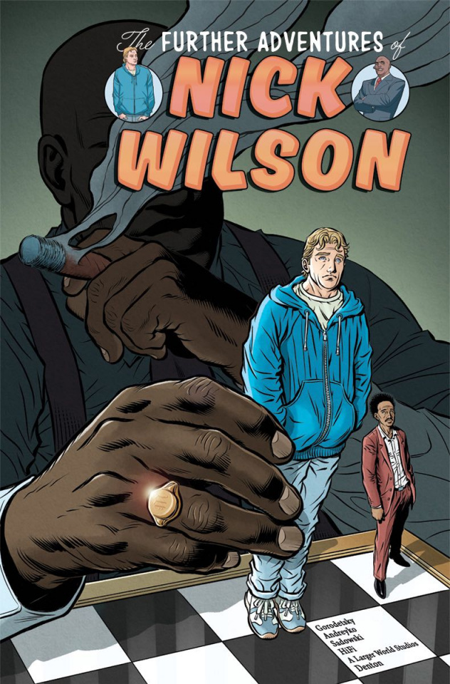 The Further Adventures of Nick Wilson #2 (Churchill Cover)
