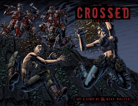 Crossed: Badlands #84 (Wrap Cover)