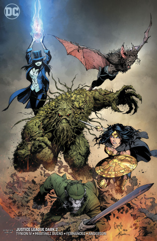 Justice League Dark #2 (Variant Cover)