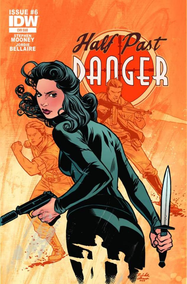 Half Past Danger #6 (Subscription Cover)