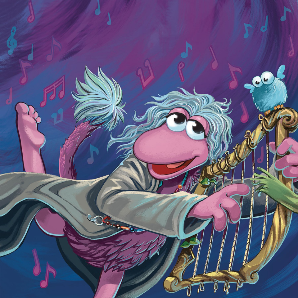 Fraggle Rock #3 (Subscription Myler Connecting Cover)