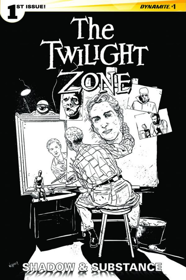 The Twilight Zone: Shadow & Substance #1 (15 Copy Vilanova B&W Cover)