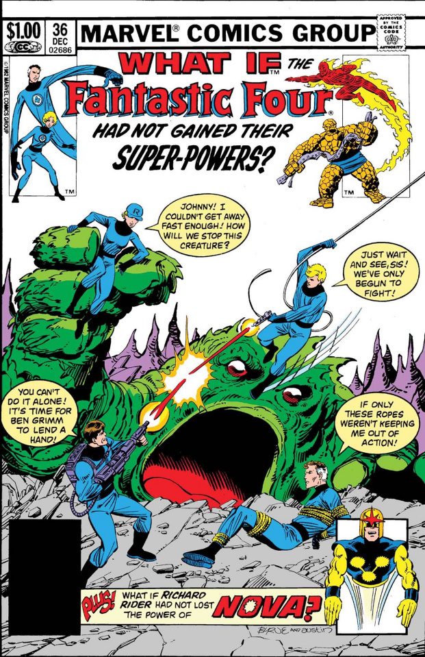 What If the Fantastic Four Had Not Gained Their Powers? #1 (True Believers)