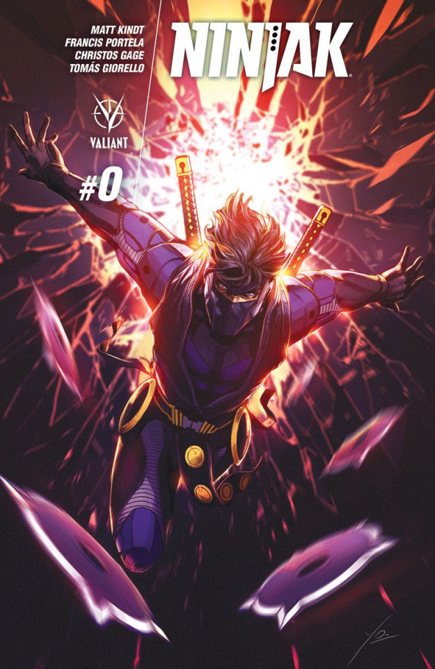 Ninjak #0 (Orce Cover)