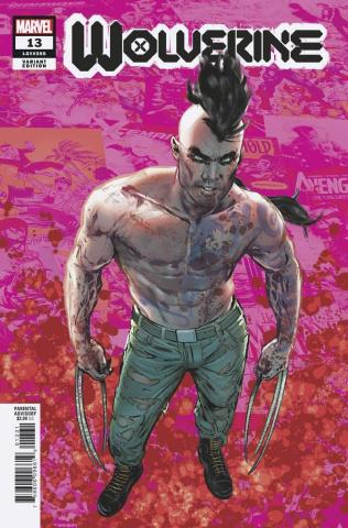 Wolverine #13 (Jimenez Pride Month Cover)