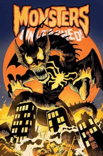 Monsters Unleashed! #6 (Venomized Fin Fang Foom Cover)