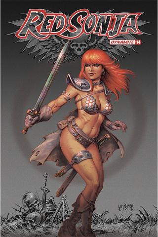 Red Sonja #14 (Linsner Cover)