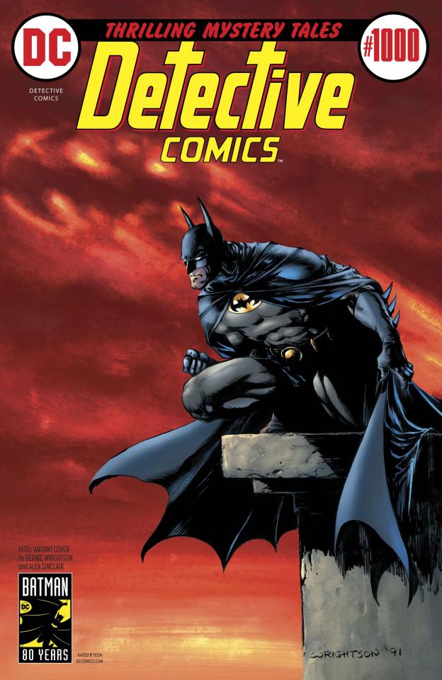 Detective Comics #1000 (1970s Cover)
