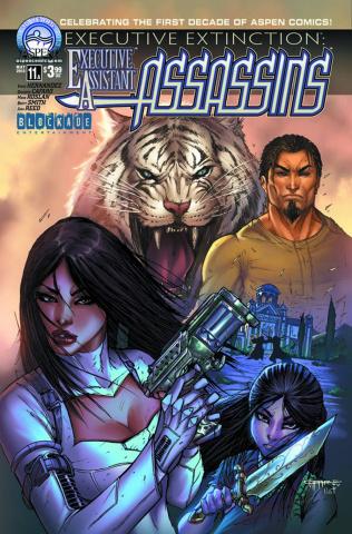 Executive Assistant: Assassins #11 (Cafaro Cover)