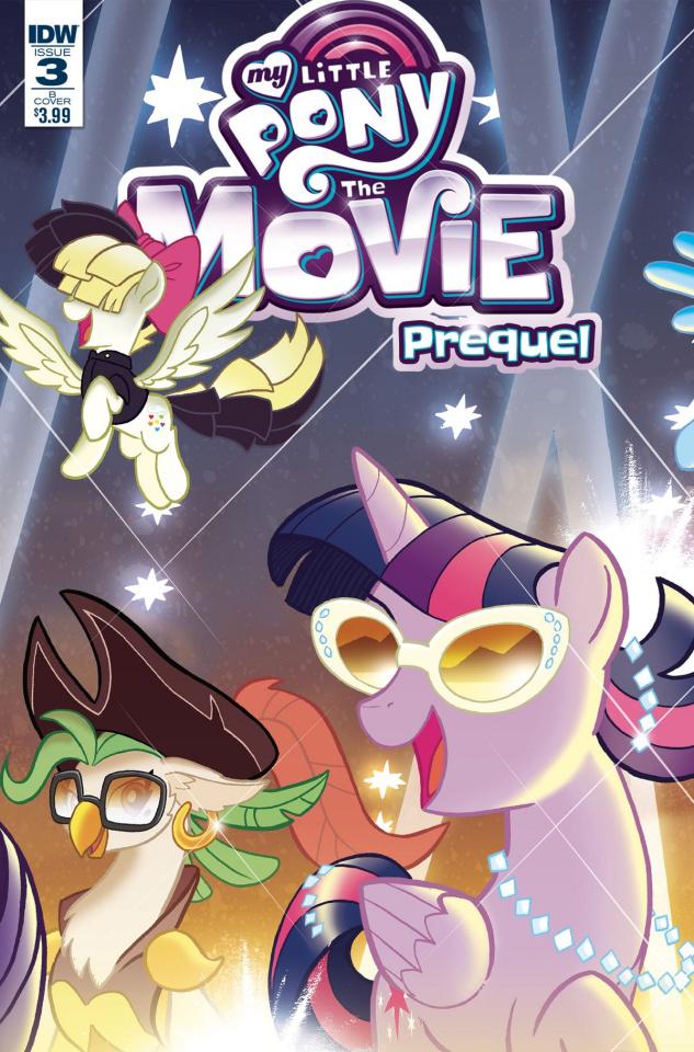My Little Pony: The Movie Prequel #3 (Fleecs Cover)