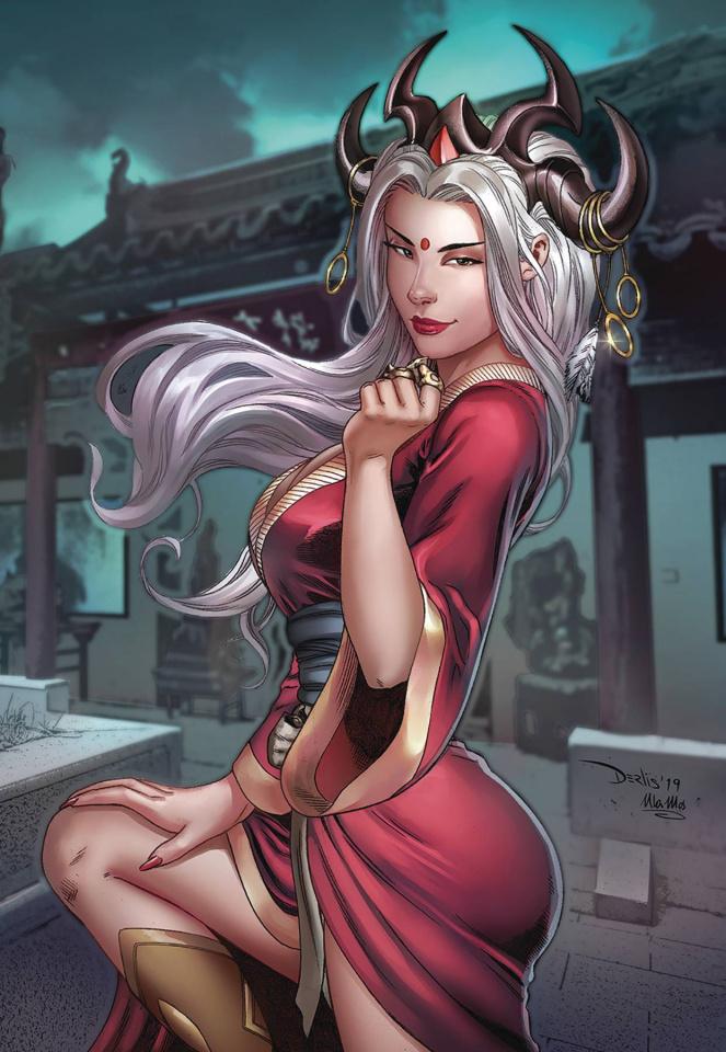 Shang #2 (Santacruz Cover)