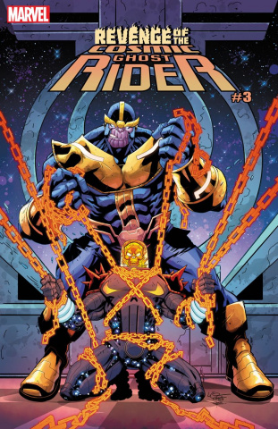 Revenge of the Cosmic Ghost Rider #3 (Lubera Cover)