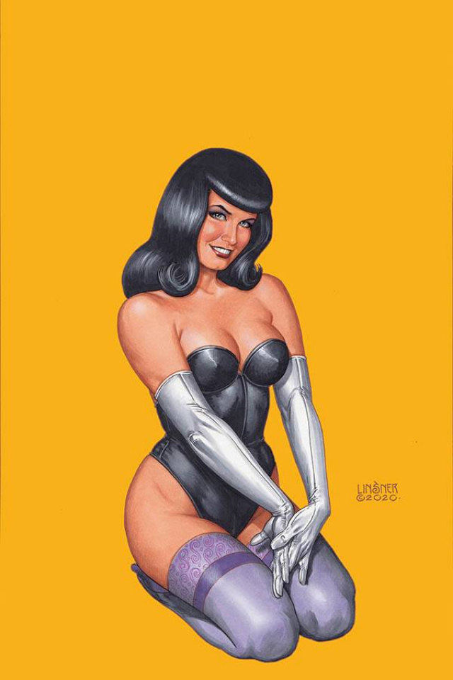 Bettie Page #2 (Linsner Virgin Cover)