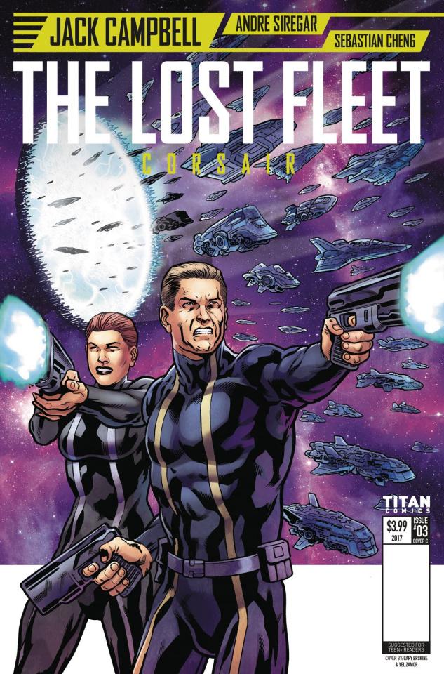 The Lost Fleet: Corsair #3 (Erskine Cover)