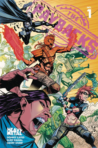 The Paybacks #1 (Shaw Cover)