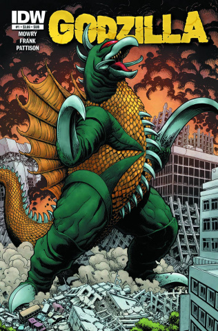 Godzilla: Rulers of Earth #1 (Subscription Cover)