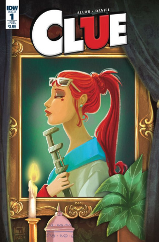 Clue #1 (Subscription Cover B)