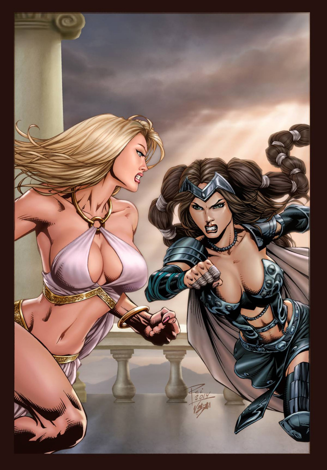 Grimm Fairy Tales: Goddess Inc. #4 (Rei Cover)