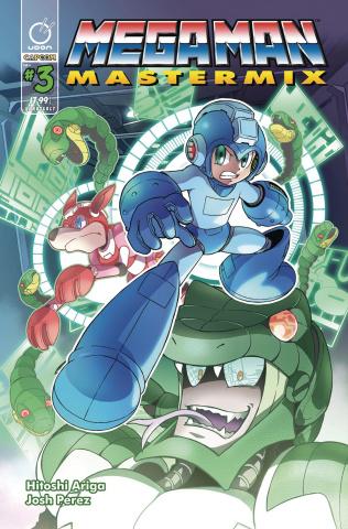 Mega Man: Mastermix #3 (Ariga Cover)