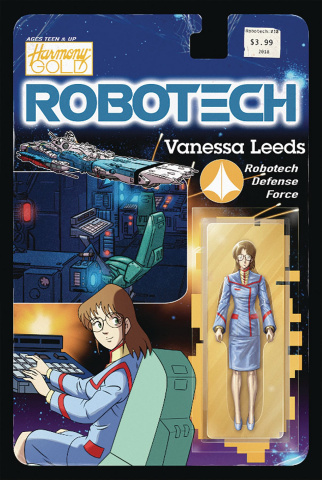 Robotech #18 (Action Figure Cover)
