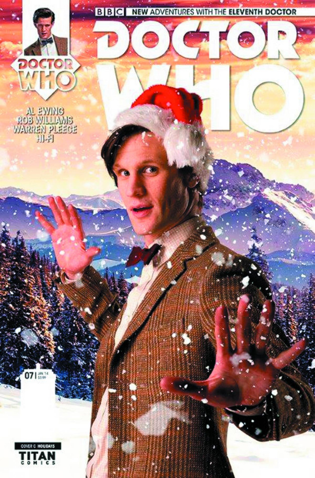 Doctor Who: New Adventures with the Eleventh Doctor #7 (Holidays Photo Cover)