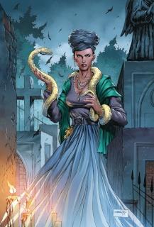Spirit Hunters #9 (Goh Cover)