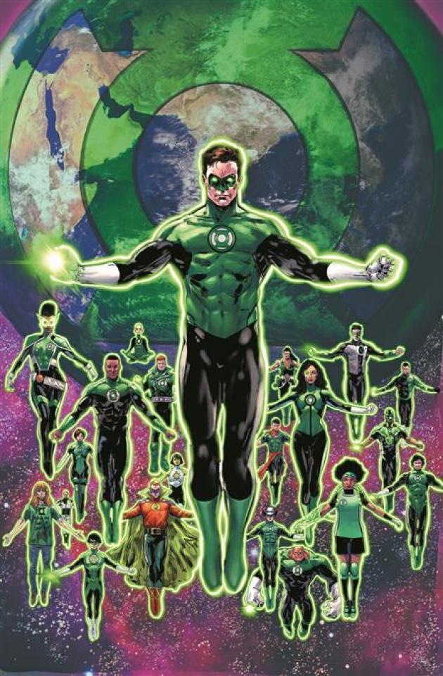 Green Lantern, Season 2 #11 (Phil Jimenez Cover)
