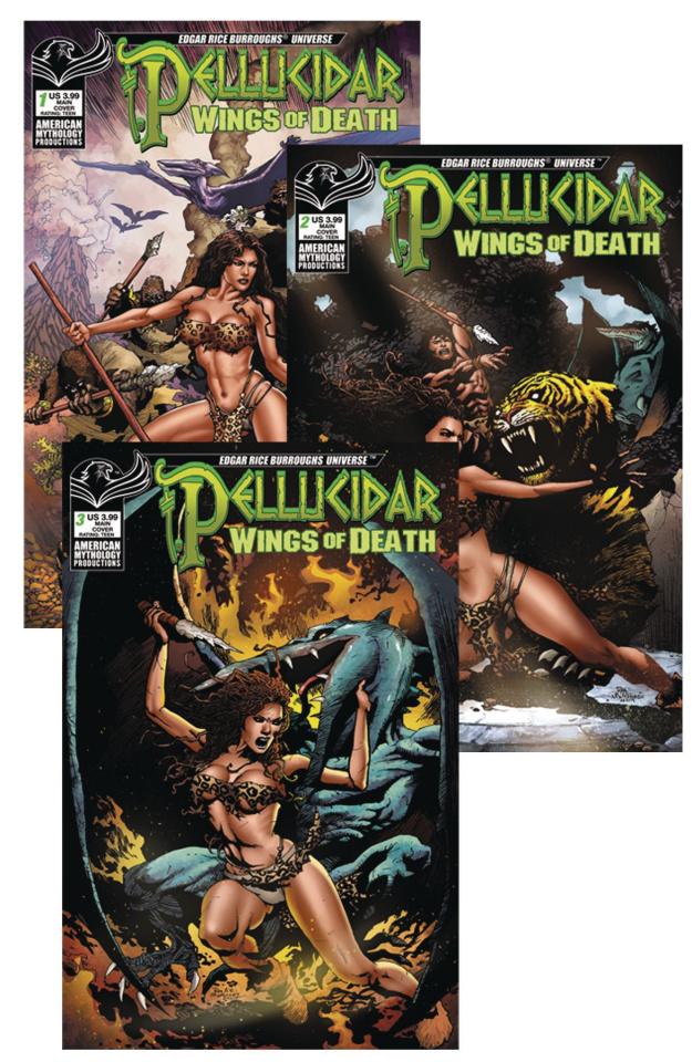 Pellucidar: Wings of Death (Readers Set)