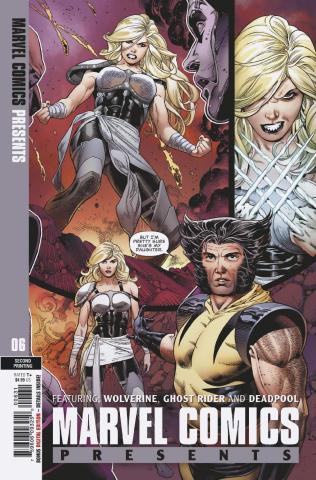 Marvel Comics Presents #6 (Siqueira Daughter Ratio 2nd Printing)