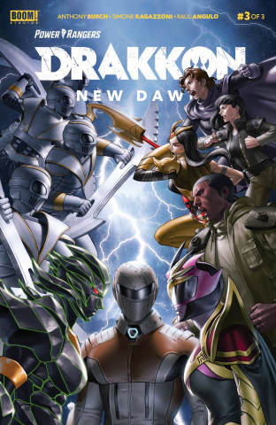 Power Rangers: Drakkon - New Dawn #3 (Secret Cover)